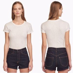 Rag & Bone Ellie High Rise Denim Short NWOT